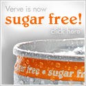 Verve is now sugar-free!